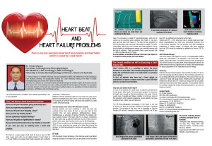 Heart beat and Heart Failure problems
